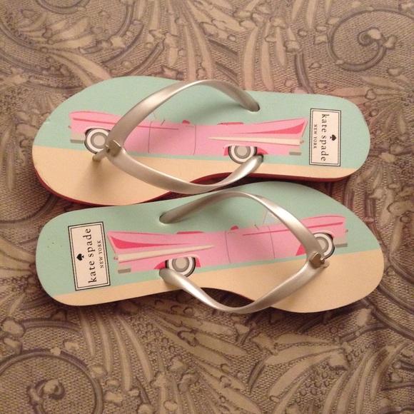 47fc7acfc60d kate spade Shoes - Kate Spade Flip Flops